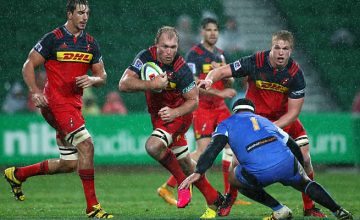 Schalk Burger on the charge for the Stormers against the Force