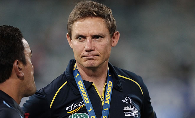 Brumbies head coach Stephen Larkham says they deserved to