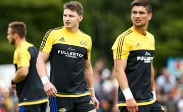 Beauden Barrett and Otere Black are in the Hurricanes Super Rugby squad for 2018