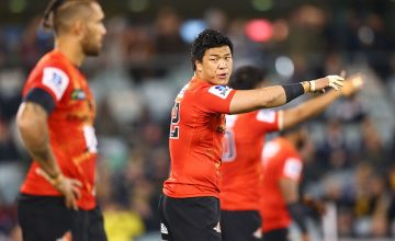 Harumichi Tatekawa captains the Sunwolves this weekend