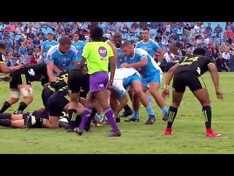 Bulls vs Hurricanes Rd.2 2018 Super Rugby video highlights