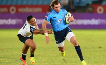 Burger Odendaal of the Bulls during the Super Rugby match between Vodacom Bulls and Sunwolves at Loftus Versfeld
