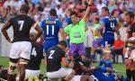 Super Rugby match referee Shuhei Kubo